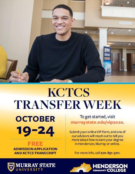 KCTCS TRANSFER WEEK