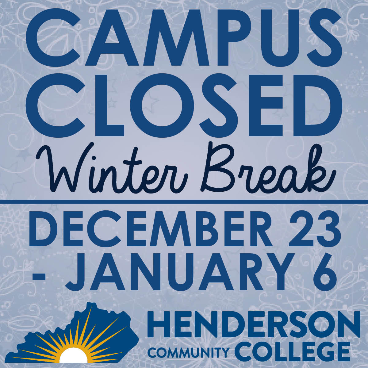 HCC WINTER BREAK