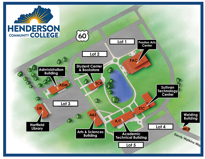 HCC Campus Map