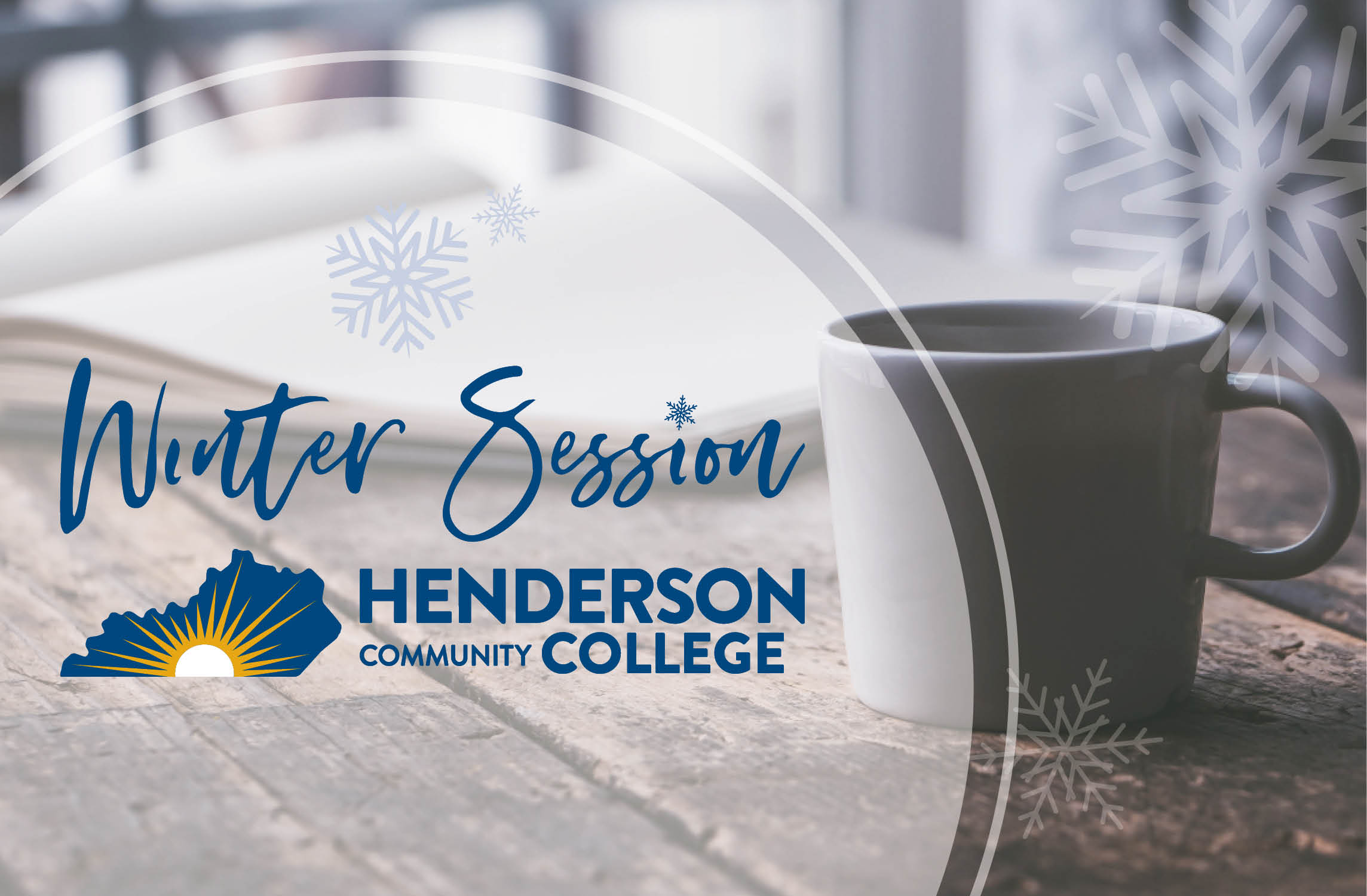 """At Henderson Community College (HCC), we strive to both meet and exceed the needs of our current and potential students, no matter the season. We understand that the """"traditional schedule"""" might not work for everyone, especially in the unique circumstances we are all currently facing. With that in mind, HCC is offering additional learning opportunities this year with a new, online winter term from December 2020 – January 2021 for current and new students, as well as those visiting from other institutions."""